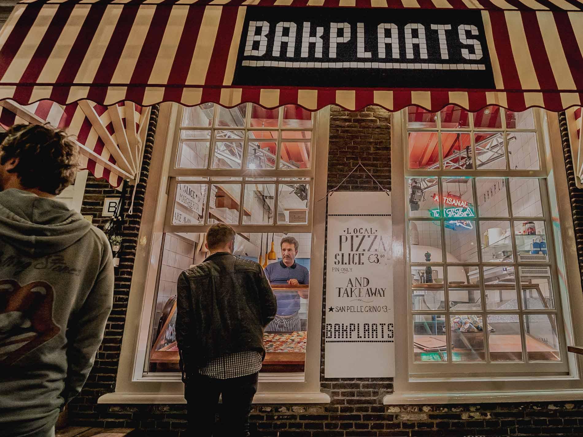 Bakplaats Grote Markt Den Haag